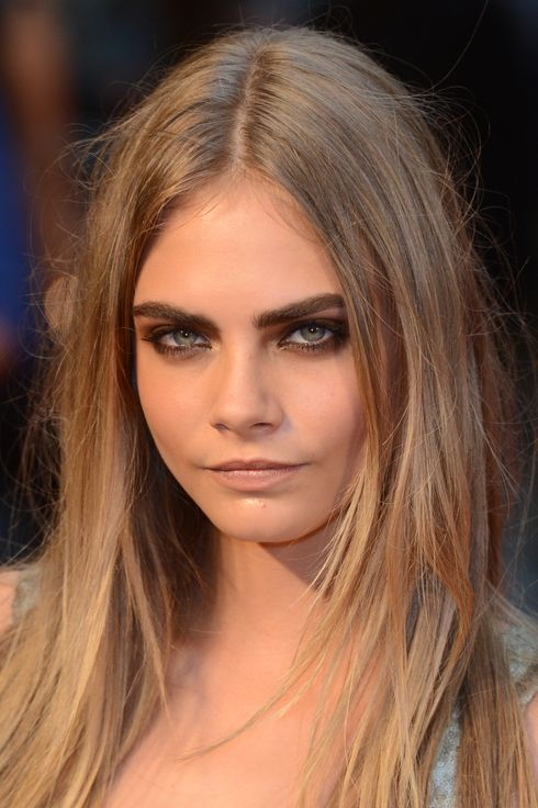 "Cara Delevingne attends the premiere of ""Anna Karenina"" at Odeon, Leicester Square."