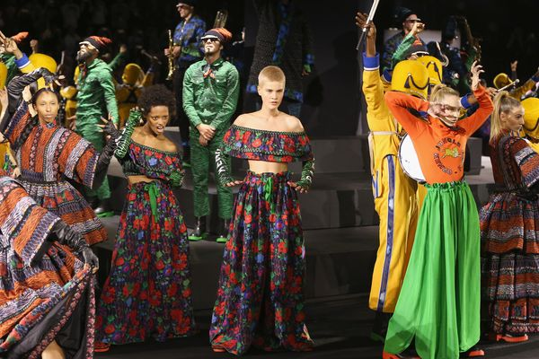 The Kenzo x H&M Show Was an Upbeat Tribute to Self-Expression