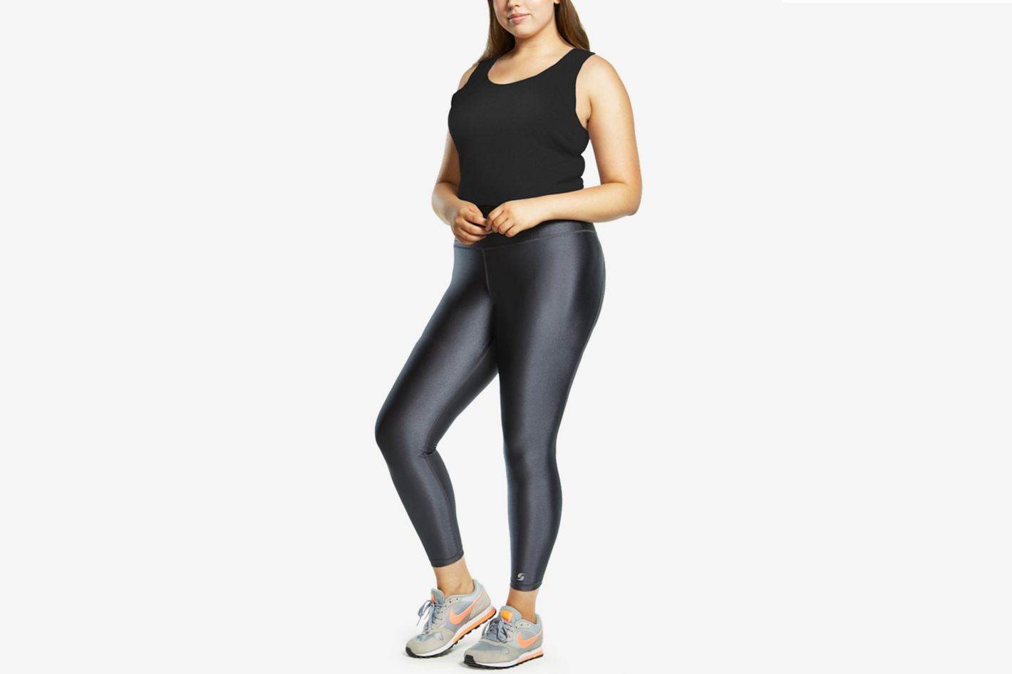 Soffe Curves High-Shine Leggings