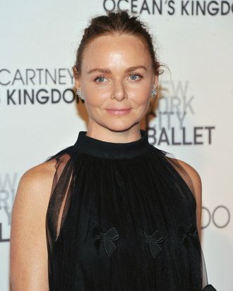 Stella McCartney, looking responsible indeed.