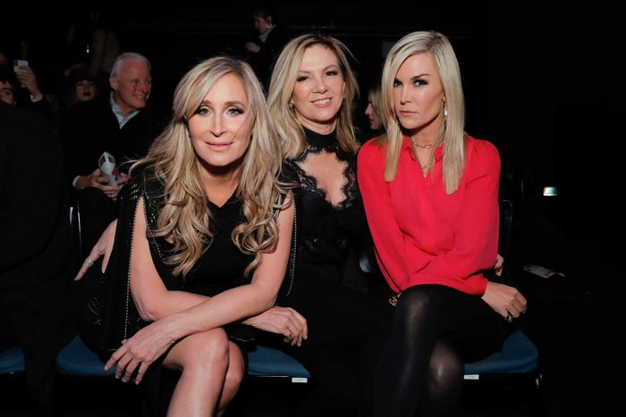 Sonja Morgan, Ramona Singer, and Tinsley Mortimer.