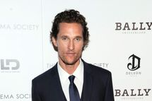 "Matthew McConaughey - The Cinema Society with Bally & DeLe?n Host a Screening of LD Entertainment's ""Killer Joe"""