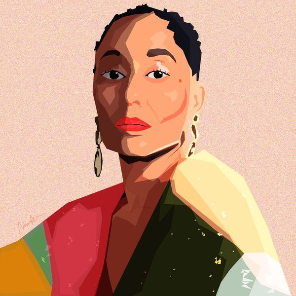 Monica Ahanonu, 'Tracee Ellis Ross Portrait'