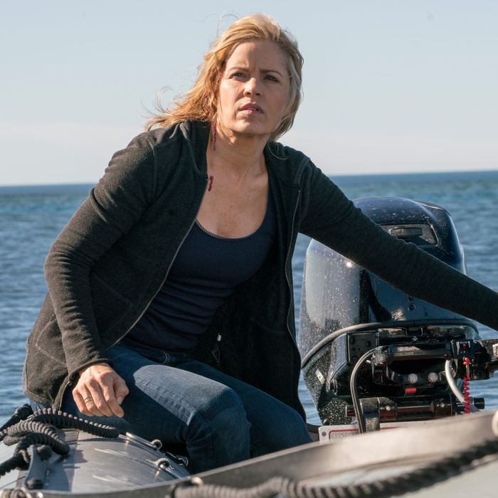 Kim Dickens as Madison Clark; Fear The Walking Dead.