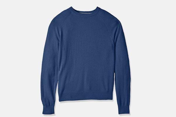 Buttoned Down Men's Standard 100% Cashmere Crewneck Sweater