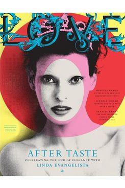 Linda Evangelista's Love cover.