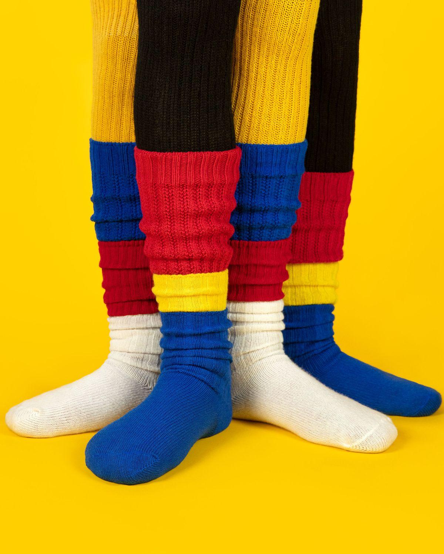 London Empire /® 6 x Thick Warm Christmas Socks Microfiber Thermal Wool Knit Cotton Socks Thermal Socks Gift Secret Santa Socks Assorted Patterns UK 4-6.5 EU 35-39