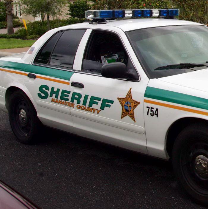 Manatee County, Florida, Sheriff's Department car.
