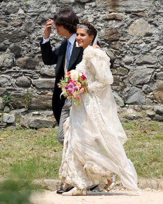 Eugenio Amos and Margherita Missoni.