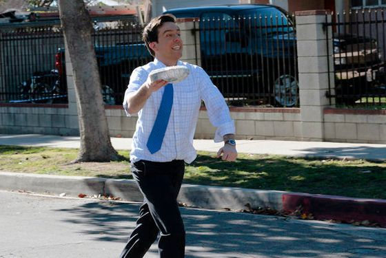 "THE OFFICE -- ""Get the Girl"" Episode 819 -- Pictured: Ed Helms as Andy Bernard -- (Photo by: Chris Haston/NBC)"