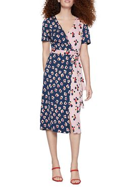 BCBGeneration Short Sleeve Wrap Dress