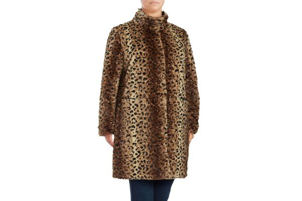Via Spiga Reversible Faux Fur Jacket