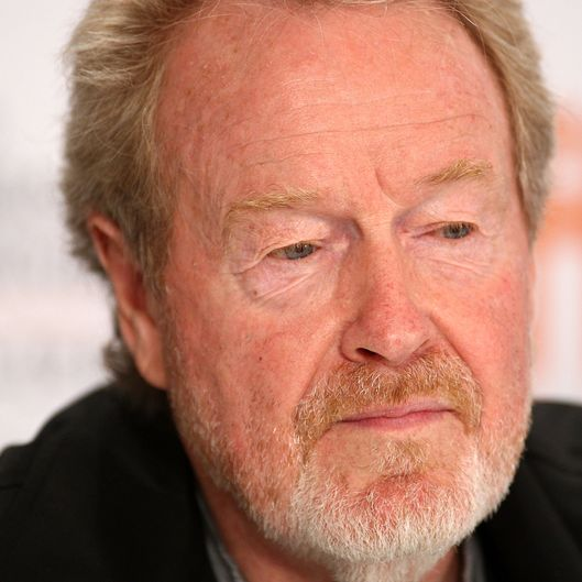"TORONTO, ON - SEPTEMBER 12:  Director Ridley Scott speaks onstage at the ""Cracks"" press conference held at the Sutton Place Hotel on September 12, 2009 in Toronto, Canada.  (Photo by Alberto E. Rodriguez/Getty Images) *** Local Caption *** Ridley Scott"