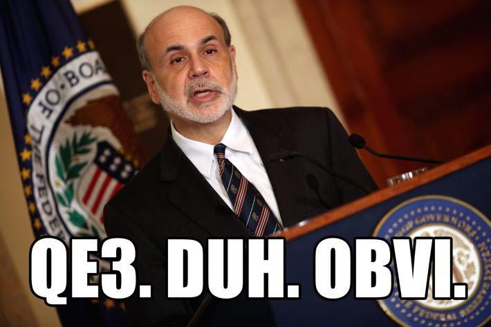 Federal Reserve Bank Board Chairman Ben Bernanke