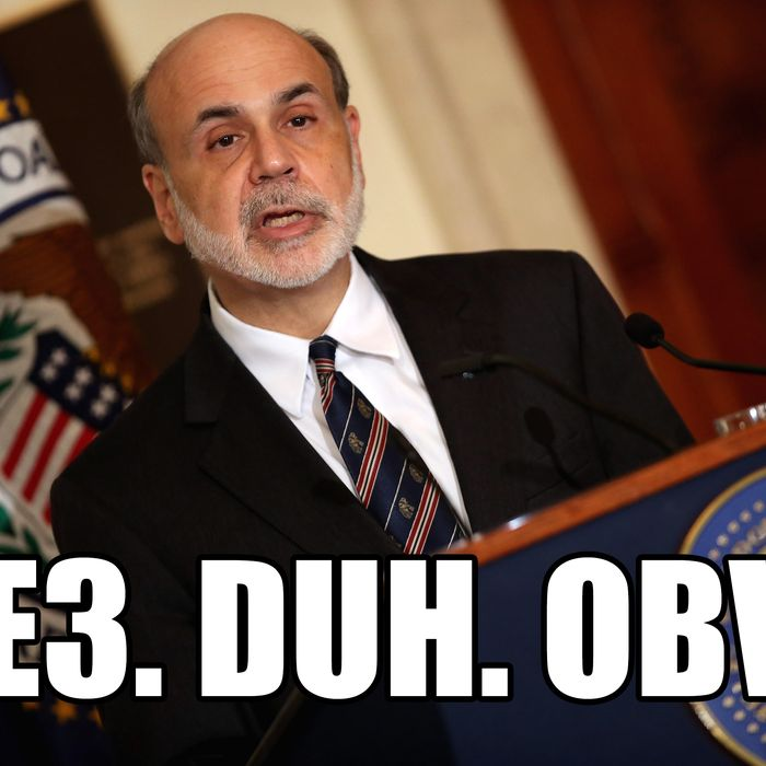 Federal Reserve Bank Board Chairman Ben Bernanke