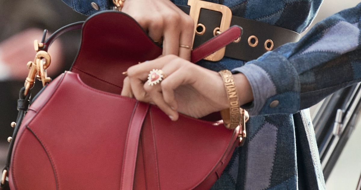 eca6dbf80 After 18 Years, The Iconic Dior Saddle Bag Is Back