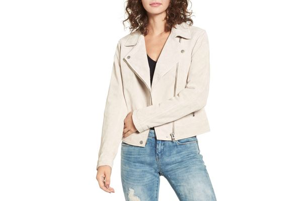 Blank NYC Suede Moto Jacket