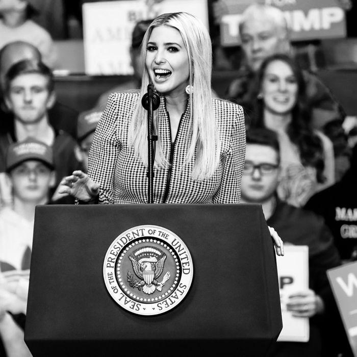 Ivanka Trump.