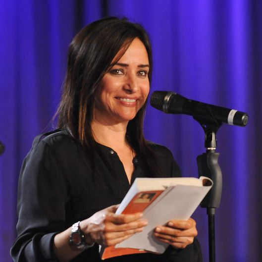 LOS ANGELES, CA - APRIL 16:  Actress Pamela Adlon during Celebrity Autobiography: The Music Edition Volume 4 at The GRAMMY Museum on April 16, 2014 in Los Angeles, California.  (Photo by Mark Sullivan/WireImage)