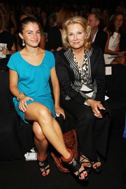 Chloe Malle and mom Candice Bergen.