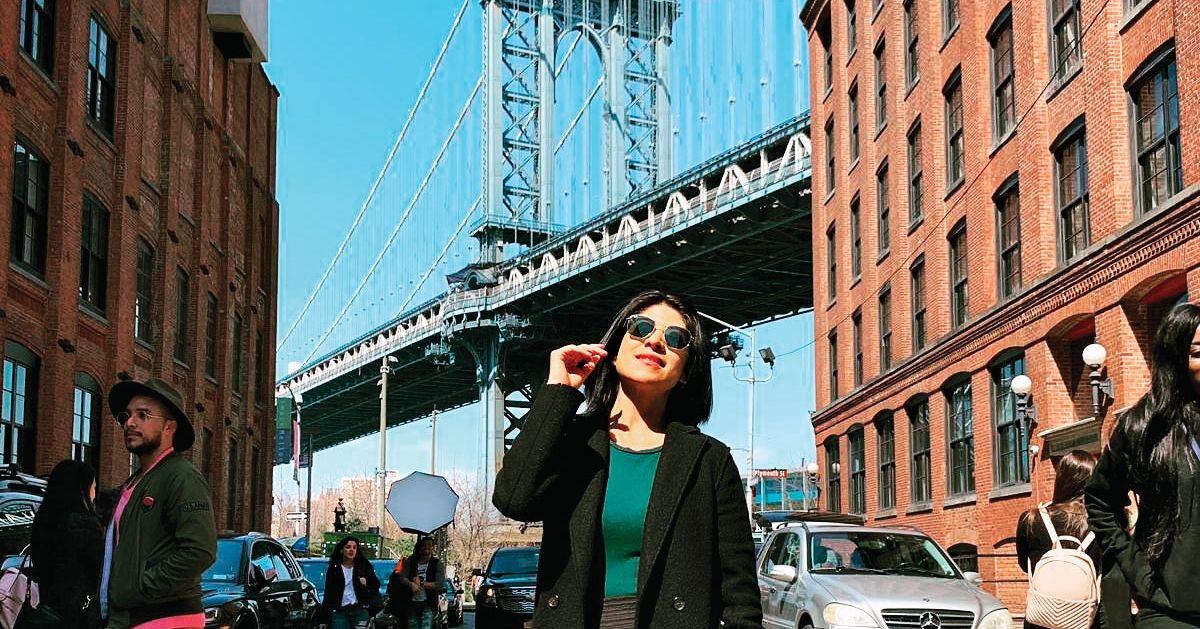 A Sunny Saturday at Brooklyn's Most Instagrammable Intersection