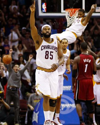 Baron Davis formerly of the Cleveland Cavaliers.