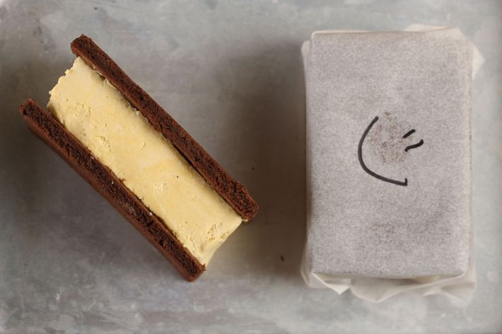 Pearl & Ash spikes kid-friendly ice-cream sandwiches with the grown-up flavor of Fernet Branca.