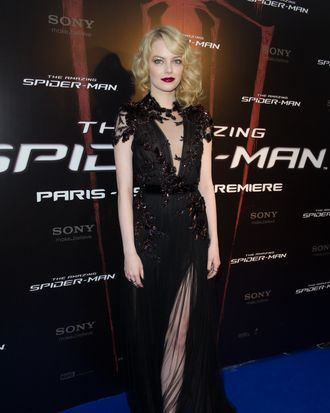 Emma Stone attends