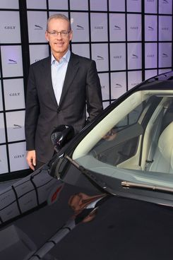 Kevin Ryan, Founder and CEO of Gilt Groupe attends Jaguar and Gilt.com's exclusive preview of the 2013 Jaguar XJL Ultimate on September 20, 2012 in New York City.