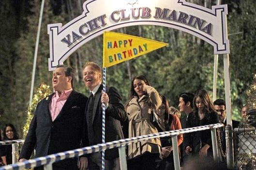 "MODERN FAMILY - ""Leap Day"" - Cameron's birthday falls on Leap Day, and with opportunities to celebrate so few and far between, the pressure for Mitchell to get it right is exceptional. Meanwhile, Jay's machismo is in question, and Phil's plans to observe the Leap Day holiday with the boys is thwarted by the girls, on ""Modern Family,"""