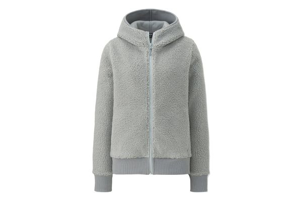 Uniqlo Blocktech Fleece Pile-Lined Hoodie