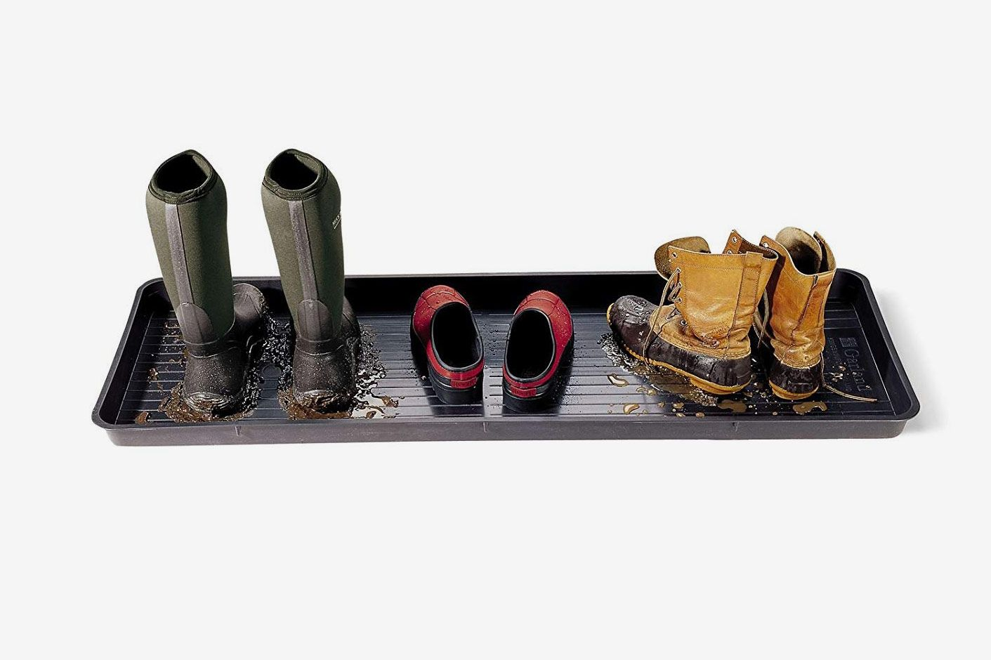 "Gardener's Supply Company Large Boot Tray (46.5"" x 15.5"")"