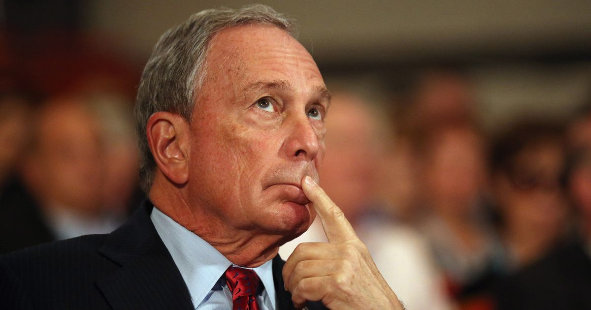 Mike Bloomberg Thinks You Proles Are Stupid and Ungrateful