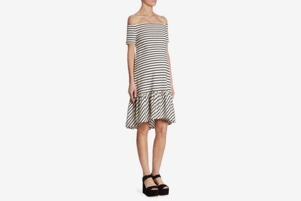Hatch Harbor Off-The-Shoulder Dress
