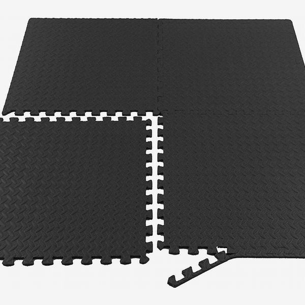 Floor Mat Exercise GYM RUBBER FLOORING Tiles Garage Home Fitness Workout Mats