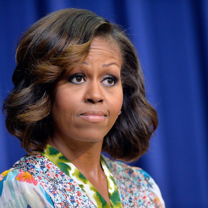Michelle Obama's new highlights.