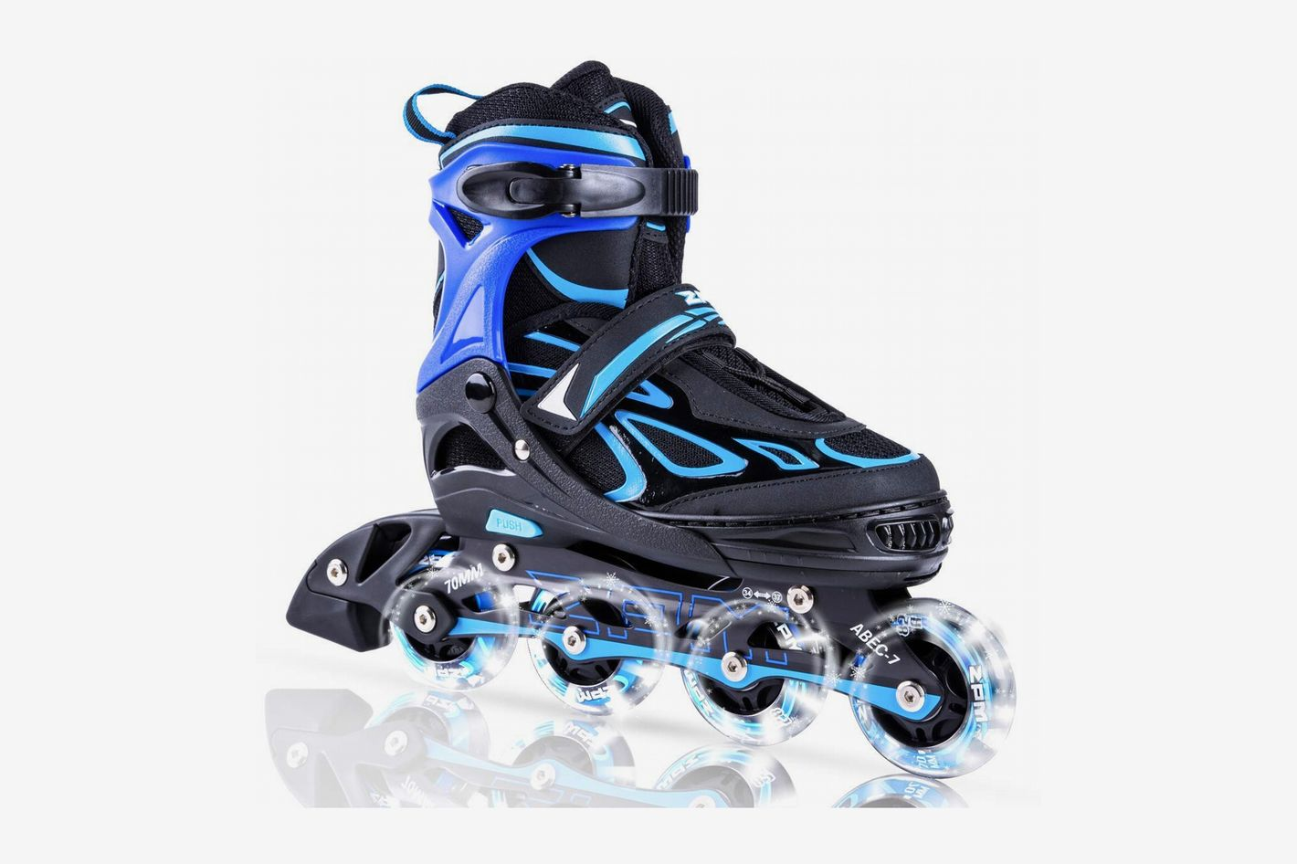 2PM Sports Adjustable Inline Skates with Light up Wheels