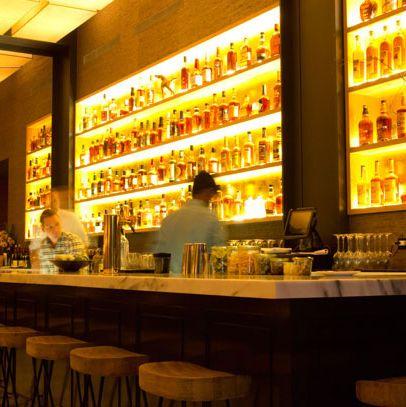 The bar at Maysville.