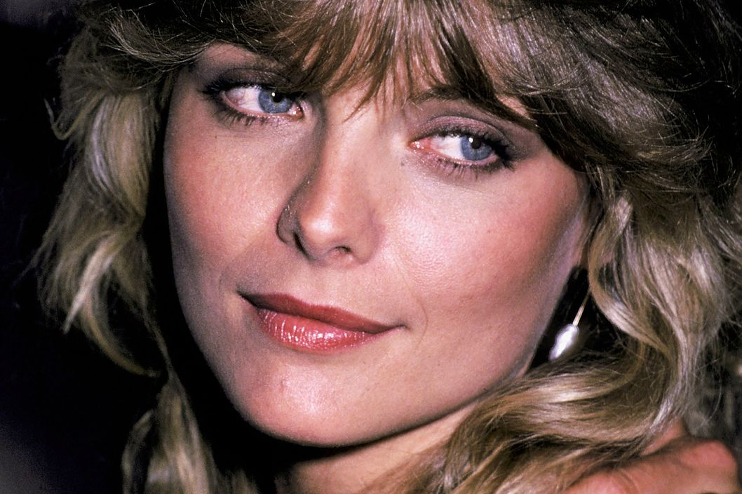 "Actress Michelle Pfeiffer attends the ""Grease 2"" Premiere Party on June 9, 1982 at the Red Parrot in New York City."