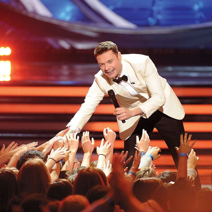 HOLLYWOOD, CA - MAY 20: Host Ryan Seacrest onstage at FOX's