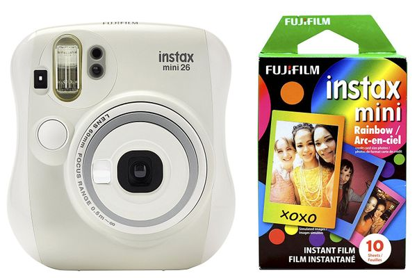 Fujifilm Instax Mini 26 + Rainbow Film Bundle