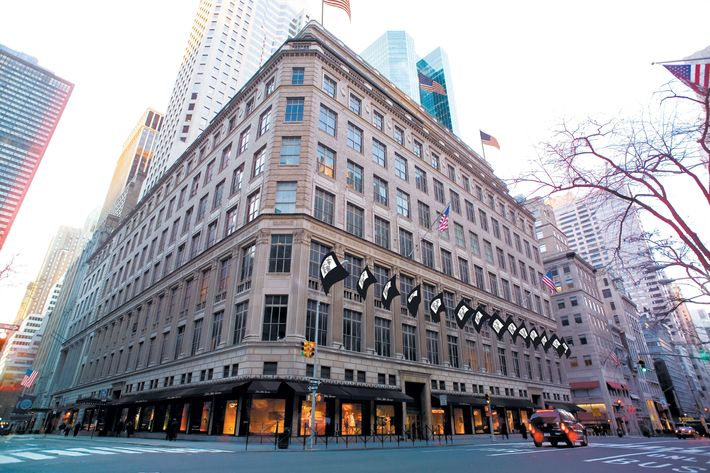 Saks Fifth Avenue, pre-Winter Palace.