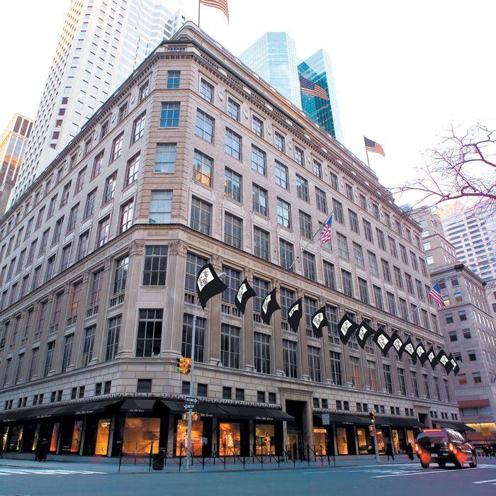 Saks Fifth Avenue, pre-Winter Palace.