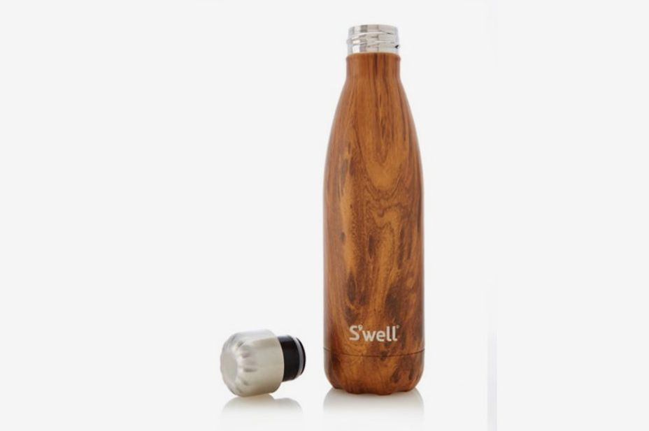 S'well Teakwood Stainless Steel Reusable Water Bottle