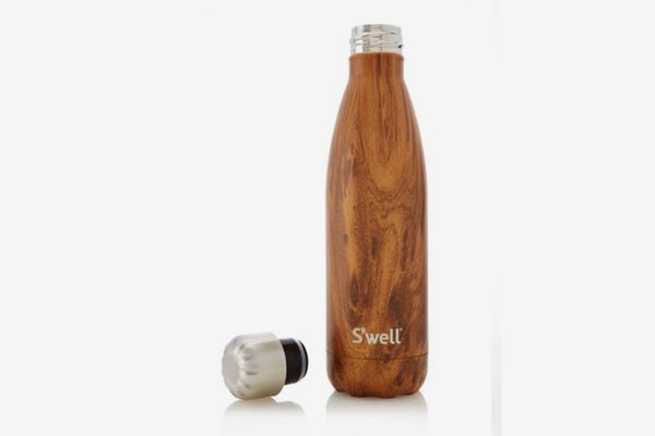 S'well Teakwood Stainless Steel Reusable Water Bottle