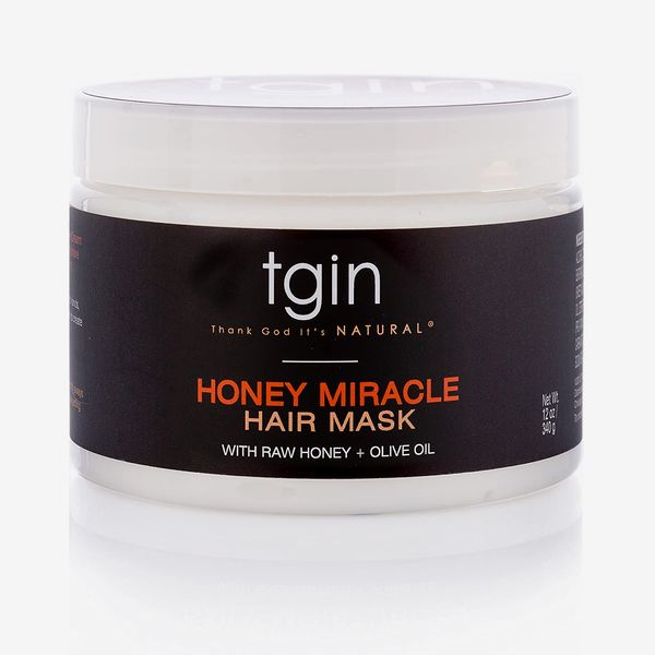 TGIN Honey Miracle Hair Mask Deep Conditioner With Raw Honey & Olive Oil