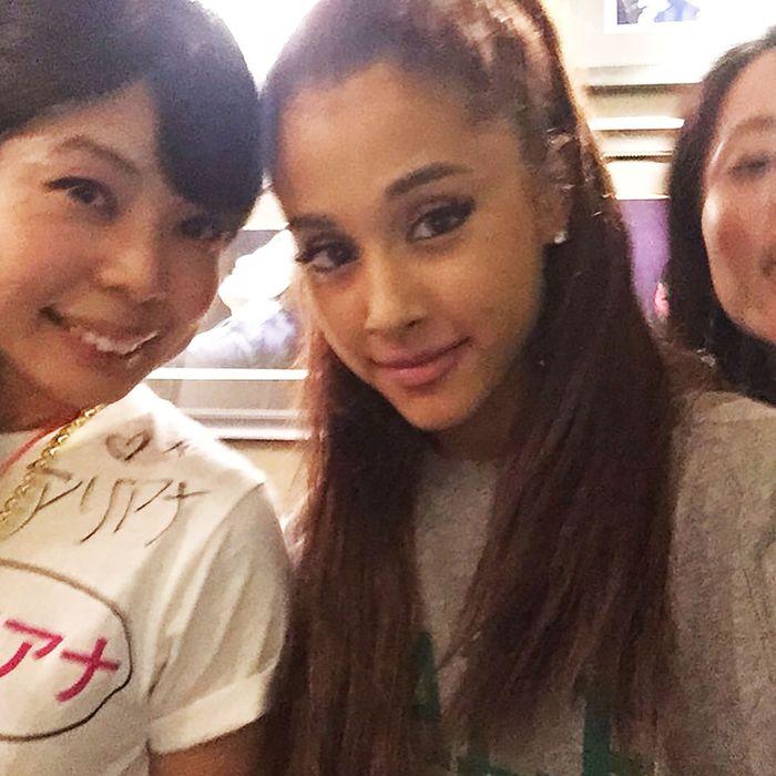 Ariana Grande and Ayumi Furiya.