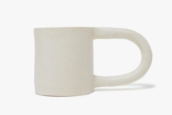 Workaday Short Mug in White