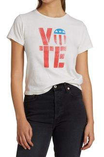 Re/done Classic Vote Graphic T-Shirt