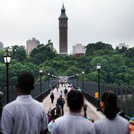 Historic Pedestrian Bridge Connecting Manhattan To The Bronx Reopens